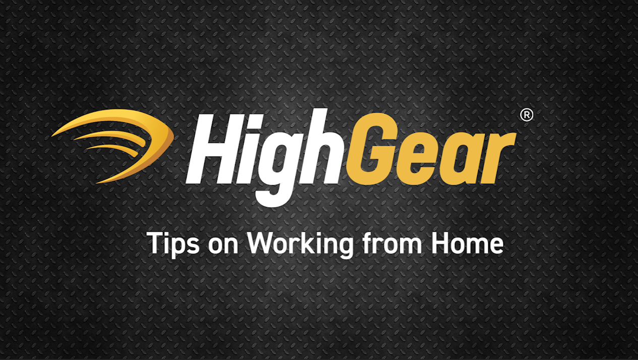 Part 3: Tips on Working from Home